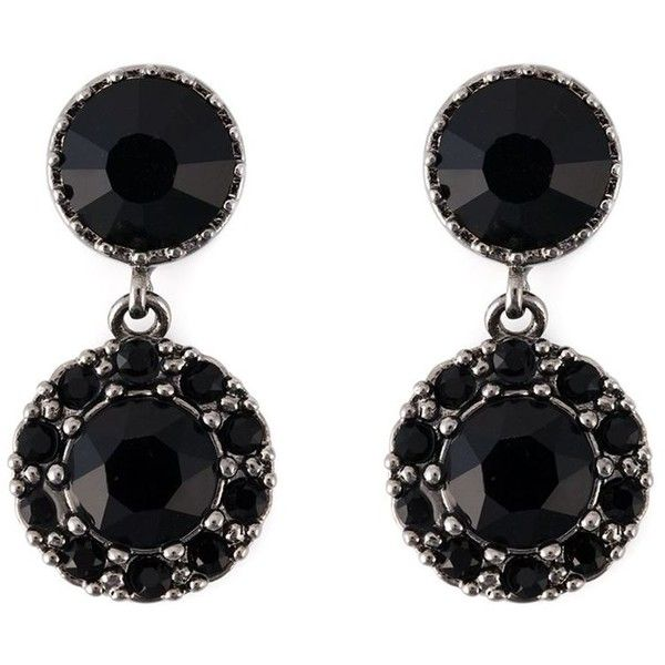 Givenchy drop magnetic earrings (1.430 RON) ❤ liked on Polyvore featuring jewelry, earrings, accessories, joias, black, earrings jewelry, givenchy, magnetic earrings, brass jewelry and magnet earrings