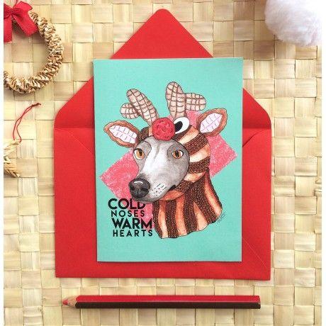 Cartão de Natal - Cachorrena