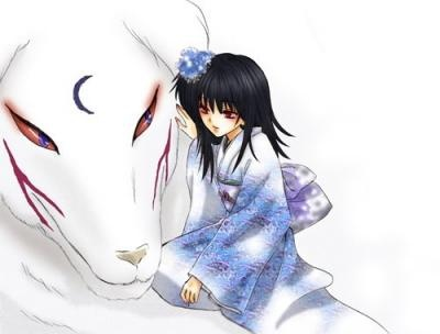 Inuyasha - Sesshomaru and Rin :3