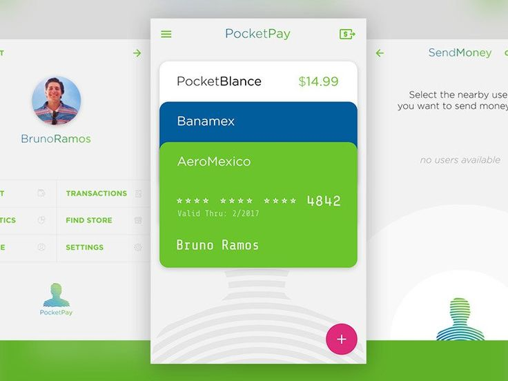 PocketPay Android app