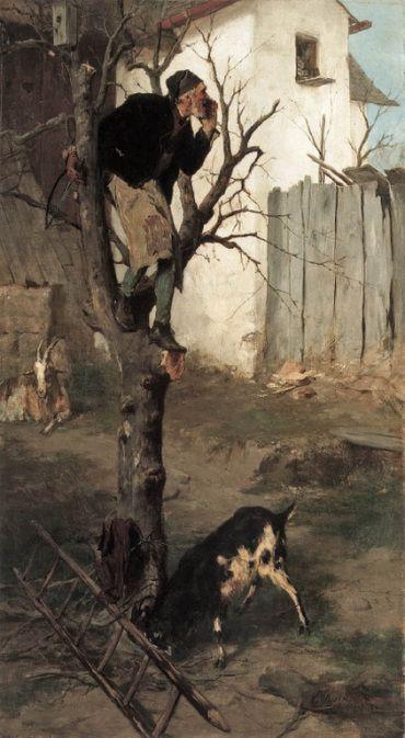 .:. Γύζης Νικόλαος – Gyzis Nikolaos [1842-1901] Αιχμαλωτισμένος