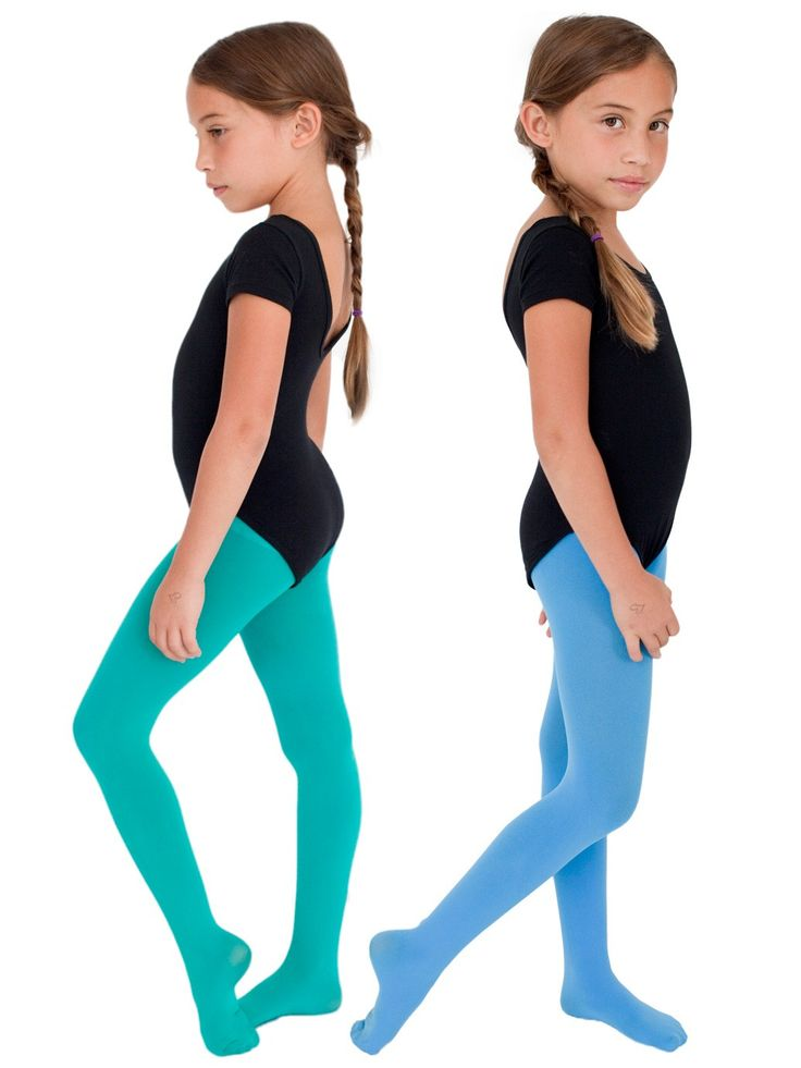 Kids Opaque color Tights, our future ballerina