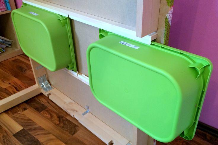 Ikea-Hack: Unser DIY-Basteltisch für Kinder / Crafts table for children