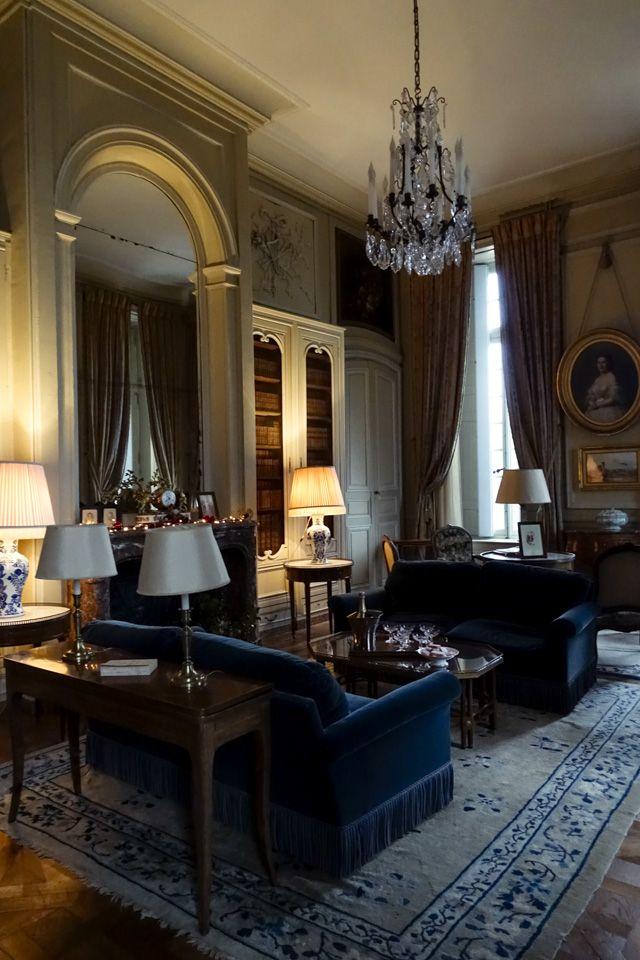 Château de la Motte-Tilly, Drawing Room