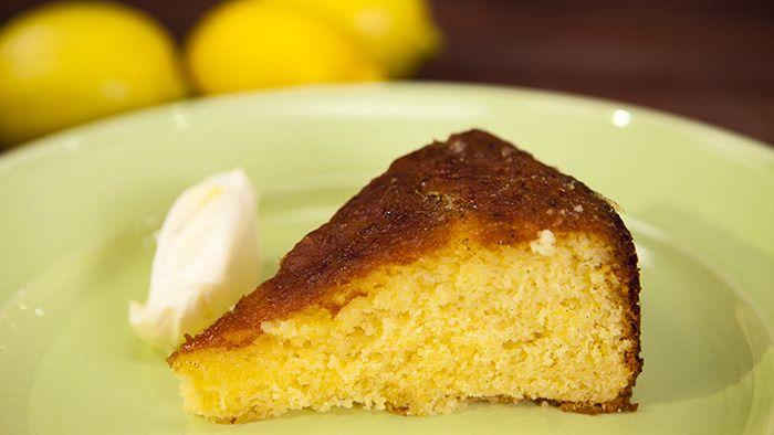 Lemon Syrup Cake on Masterchef Australia competitor, Justine Schofield's website • CWA Australia recipes • lemon syrup cake recipe here