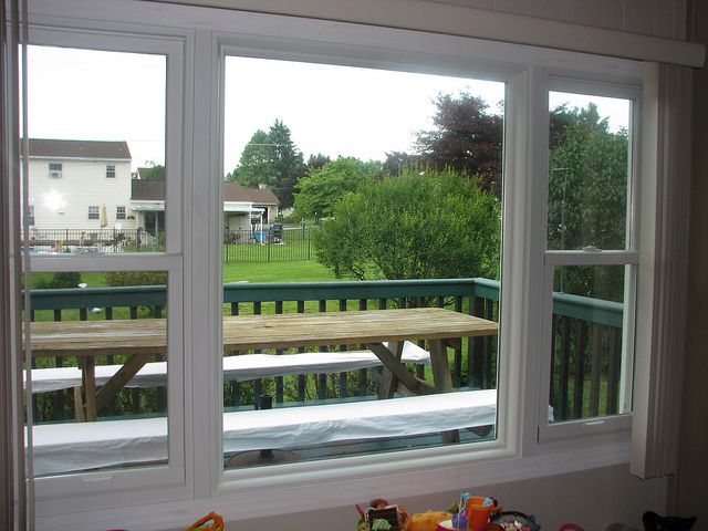 Remember: Picture windows are beautiful, but they don't open! Solve this problem by placing combination windows on either side of the picture window. You'll have a gorgeous view, plus ventilation! Learn more: http://www.rbacentralpa.com/picture-combination-windows.html