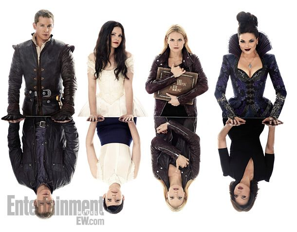 "Am I the only one that wants the Once Upon a Time writers to do an episode of what if the Evil Queen never caste the curse? Just to see Emma as a princess and have Snow and Charming raise her...maybe it could be a spell placed on everyone when ""someone"" tries to take Henry and make everyone forget."
