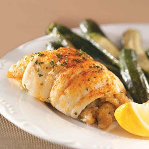 Flounder with shrimp stuffing.. for a christmas fish dish?