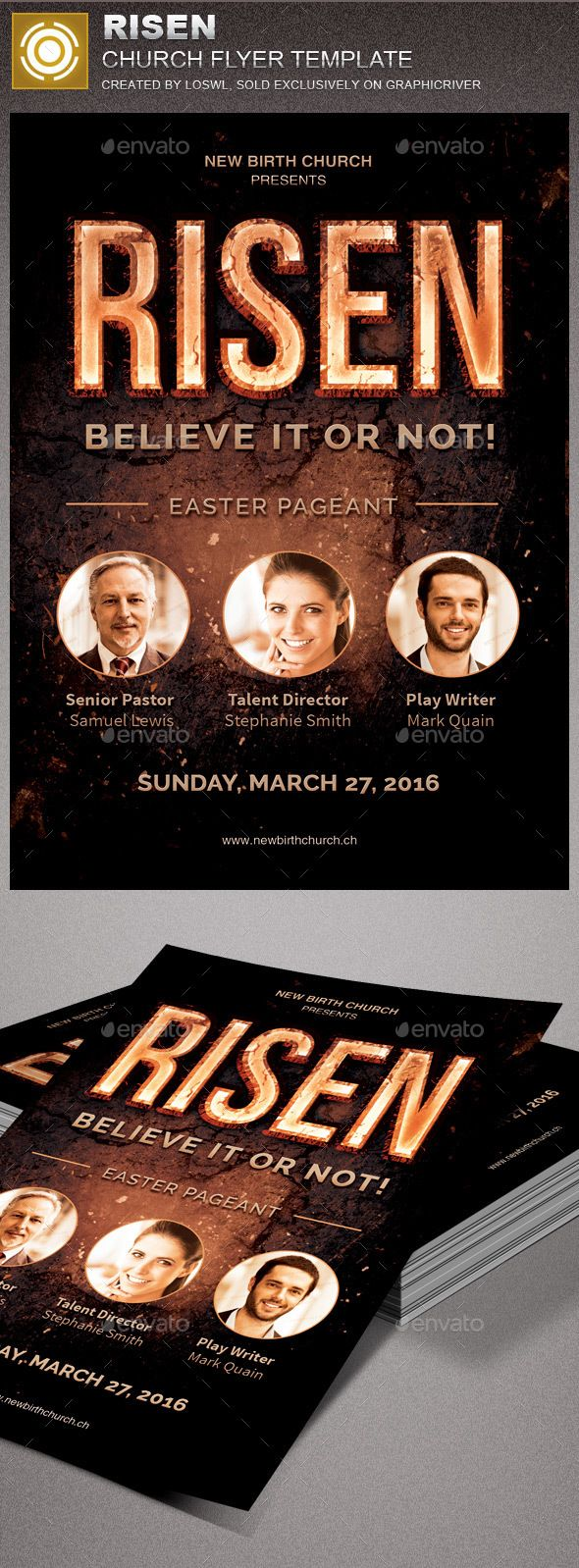 best images about church marketing flyer templates risen church flyer template