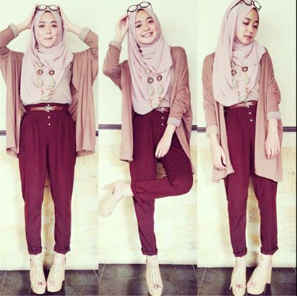 Style Simple Hijab 2015 Fashion Pinterest Simple