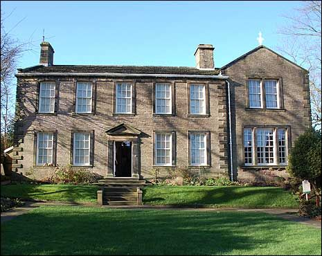 Bronte Parsonage, Haworth, West Yorkshire, Charlotte Bronte's home