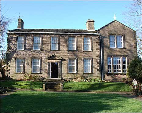 Bronte Parsonage, Haworth, West Yorkshire, Charlotte Bronte's home