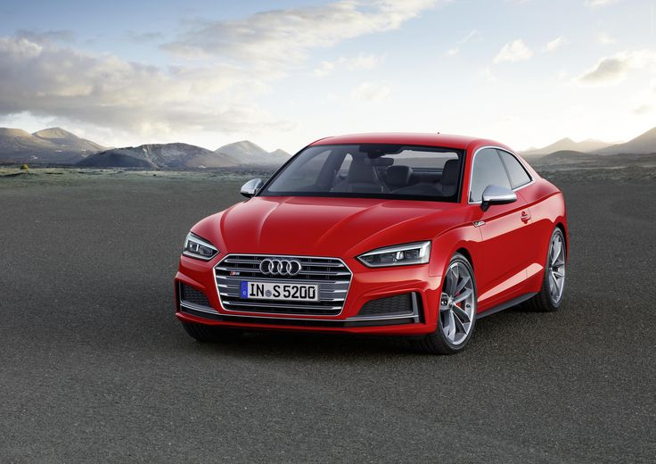 2017 Audi S5 Coupe  #Audi_S5 #Audi_A5 #Audi #German_brands #2017MY #Segment_S #Paris_2016