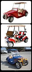 Wild Golf Carts Custom Made!  Made to order & can run up to 40mph