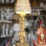 Base para Abajour Hindú, 48 cm. ArtCunha Artesanato em Gesso ArtCunha Decorações em Artesanato de Gesso - Fabrica e Restaura. Est. Bandeirantes, 829, Taquara, Rio de Janeiro, RJ. Tel: (21) 2445-1929 / 8558-3595. #Escultura #Estatua #Artesanato #Gesso #Fabrica #Abajur #Abajour #Luminaria #Luminarias #Abajures #Abajoures #Hindu #Hindi #Indiano #Indiana #Indian #India  #Decoracao #Decoracoes