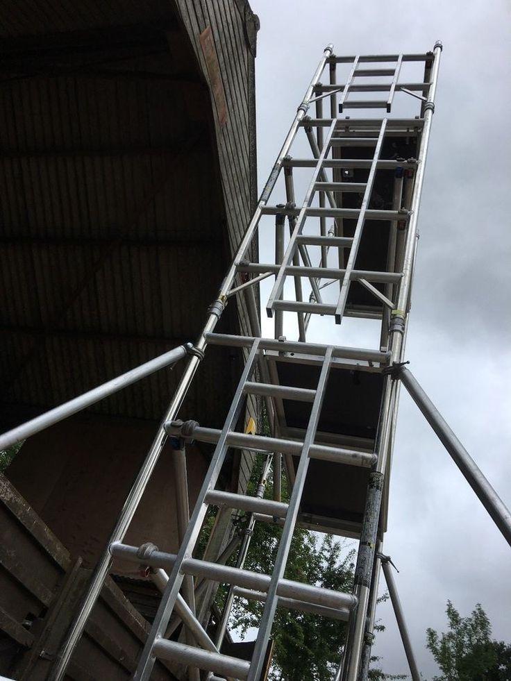 Boss Youngman Aluminium Scaffold Tower Narrow Evolution 6.2M WH X 1.8M