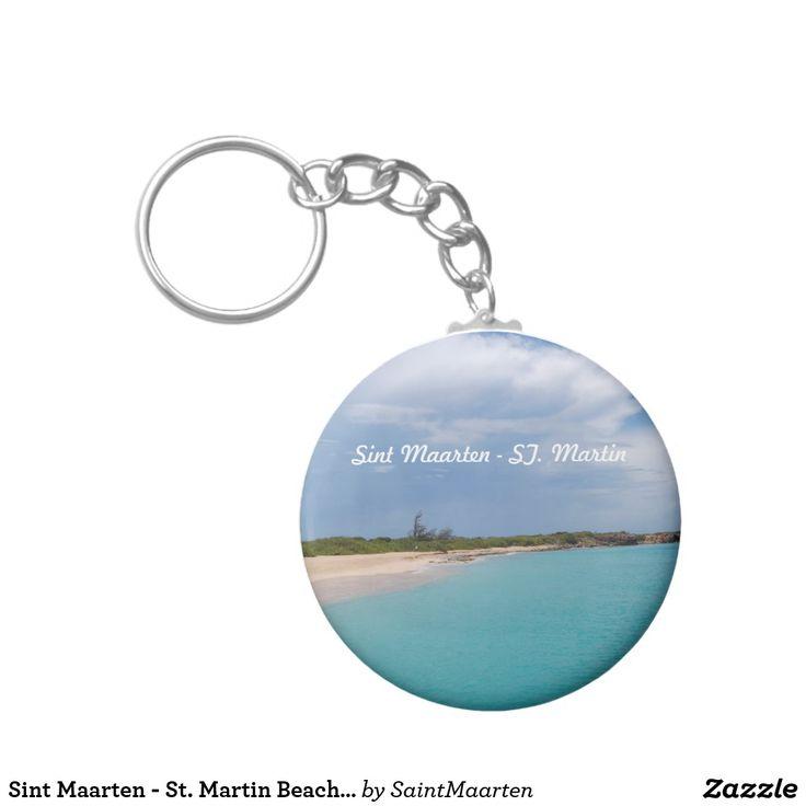 Sint Maarten - St. Martin Beach Scene Keychain (sold - Rhode Island) Thank you!