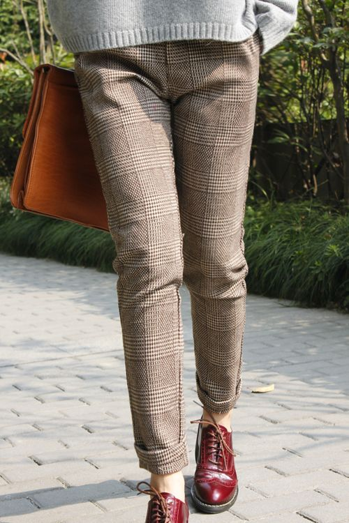 Best 20  Checked trousers ideas on Pinterest