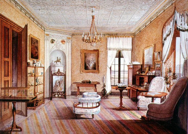 Residenz Ansbach Audienzzimmer der Markgräfin Tyskland - esszimmer ansbach