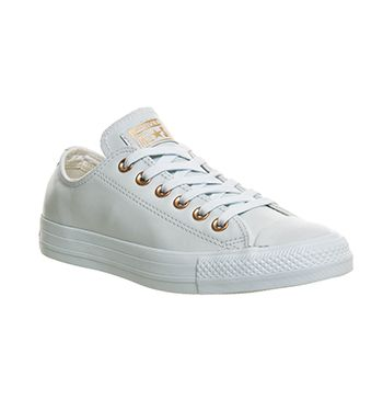 Converse All Star Low Leather Powder Blue Rose Gold Exclusive - Unisex Sports