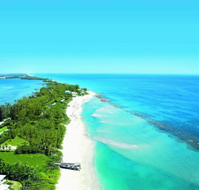 Bathtub Reef Beach in Stuart has a shallow reef that is perfect for easy snorkeling.