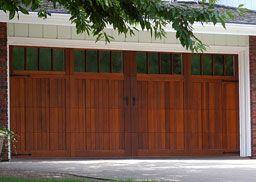chi wood garage doors
