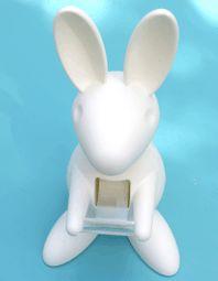 Love Letter Stationery: Bunny Tape Dispenser