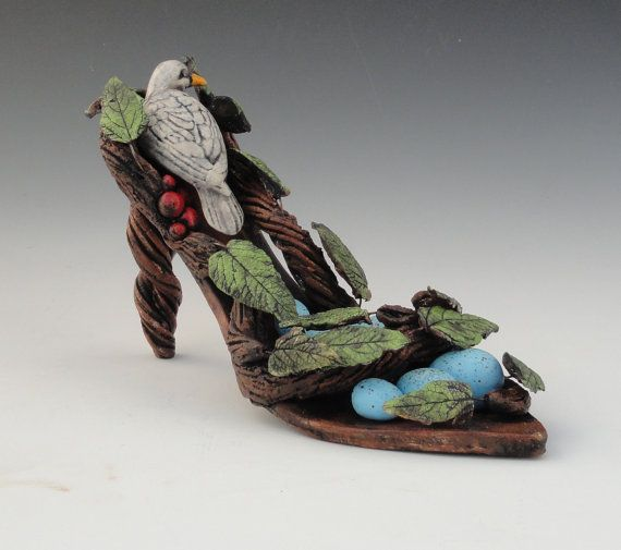 Art Clay Sculpted Bird Nest Ring: 1000+ Images About Shoes On Pinterest