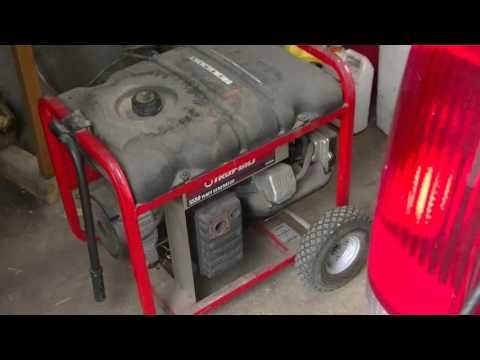 Quieting Your Portable Generator for Home Use - YouTube
