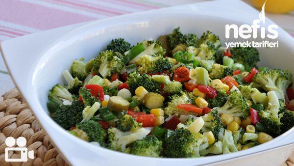 Brokoli Salatası Nasıl Yapılır Videosu