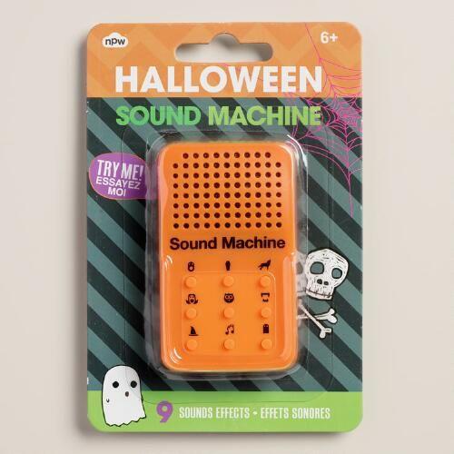 One of my favorite discoveries at WorldMarket.com: Handheld Halloween Sound Effects Machine