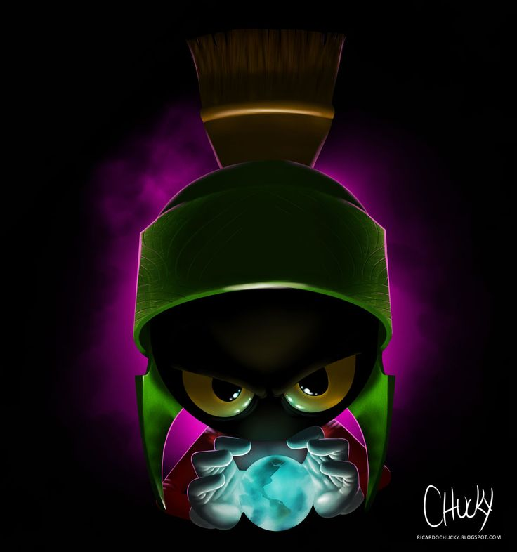 Marvin the Martian  by *fubango