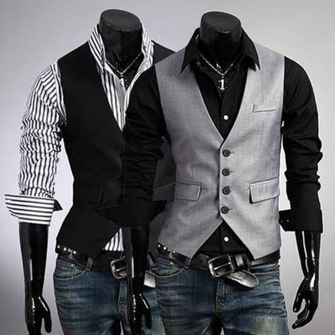 Vests dominate all other clothing!