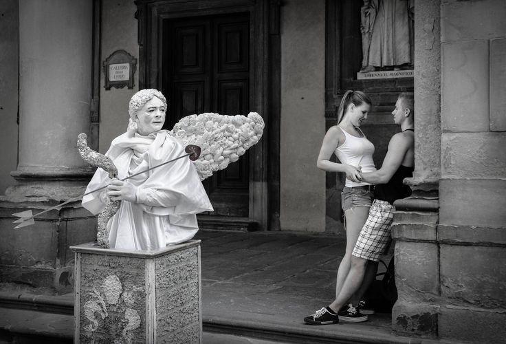 """ph. ©Renzo Baggiani - """"Cupido: -SOTTO A CHI TOCCA!"""""""