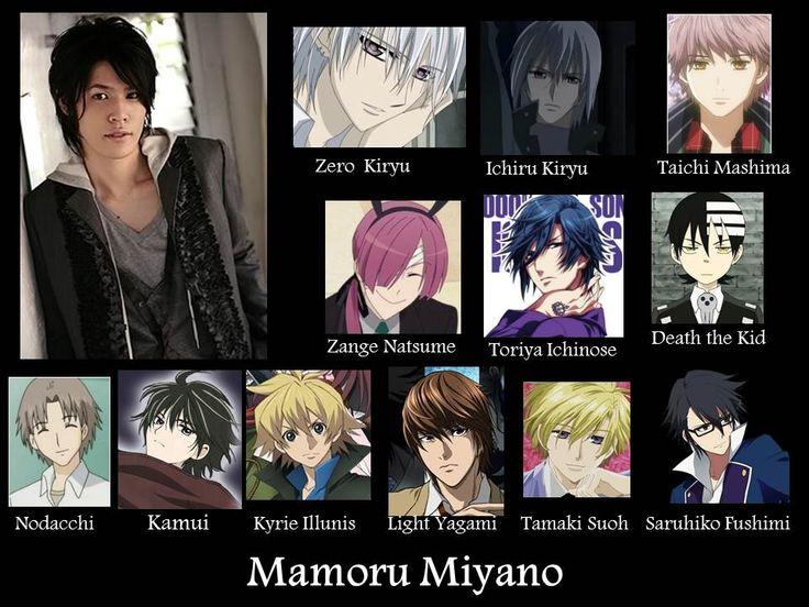 Mamoru miyano is the voice actor of zero and ichiro from