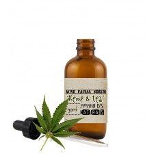 Hemp Seed Tea Tree Oil Facial Serum Treatment for Acne & Oily Skin