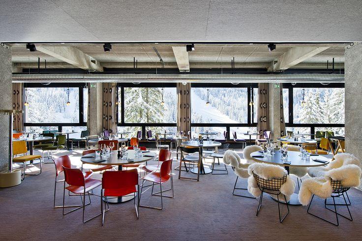Hotel TOTEM - Flaine - France #Balsan #design #interior #interiors #decor #decoration #ideas #color #carpet #modern #Creativity #flooring #artistic #home #inspiration #flooring #textile #pattern #hotel #Flaine #France #ski #mountain #holidays
