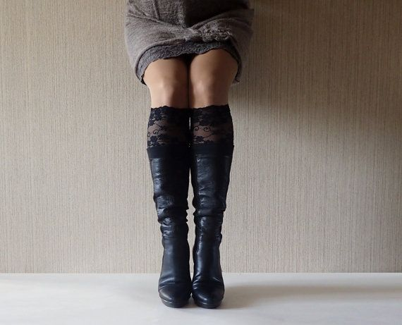 Check out Lace Boot Cuffs, Boot Cuff, LaceToppers, Half Socks Cute, Black Color Lace Cuffs, Women Boot Socks, Gift Ideas, Free Shipping, C5016 on bumberiny