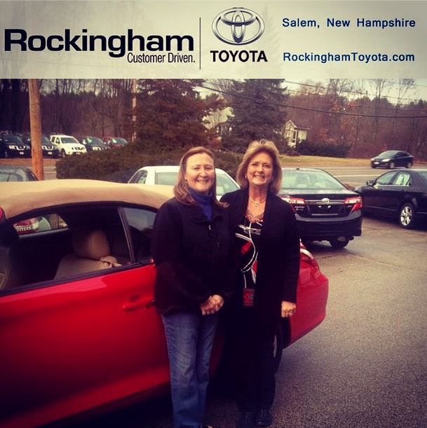 Congratulations, Michelle, on your new 2007 Toyota Solara Convertible!