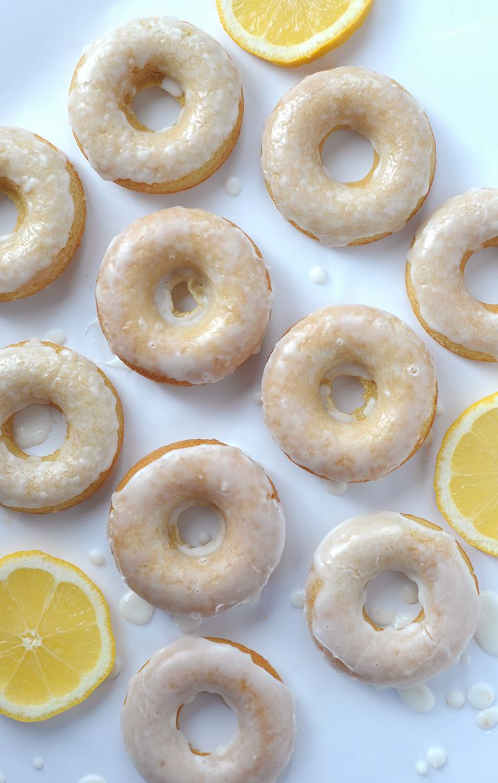 Baked Lemon Donuts recipe
