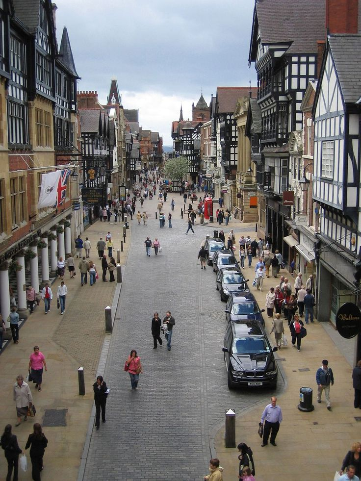 Eastgate Street, Chester, United Kingdom (Shared Space)