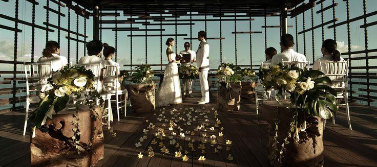 Intimate Wedding in Bali Celebrated at Alila Uluwatu.