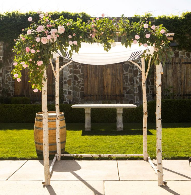 Wedding Backdrop Ideas: Wedding Chuppah, Wedding Ceremony Backdrop