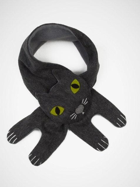 cute cat scarf