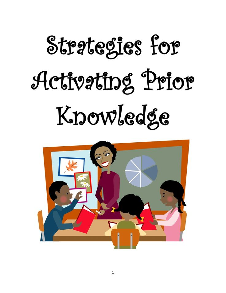 Strategies for activating prior knowledge by Alona Rose Jimenea via slideshare