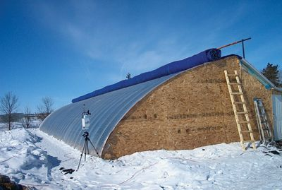 University of Manitoba Solar Greenhouse testing, be good to see what they have learned