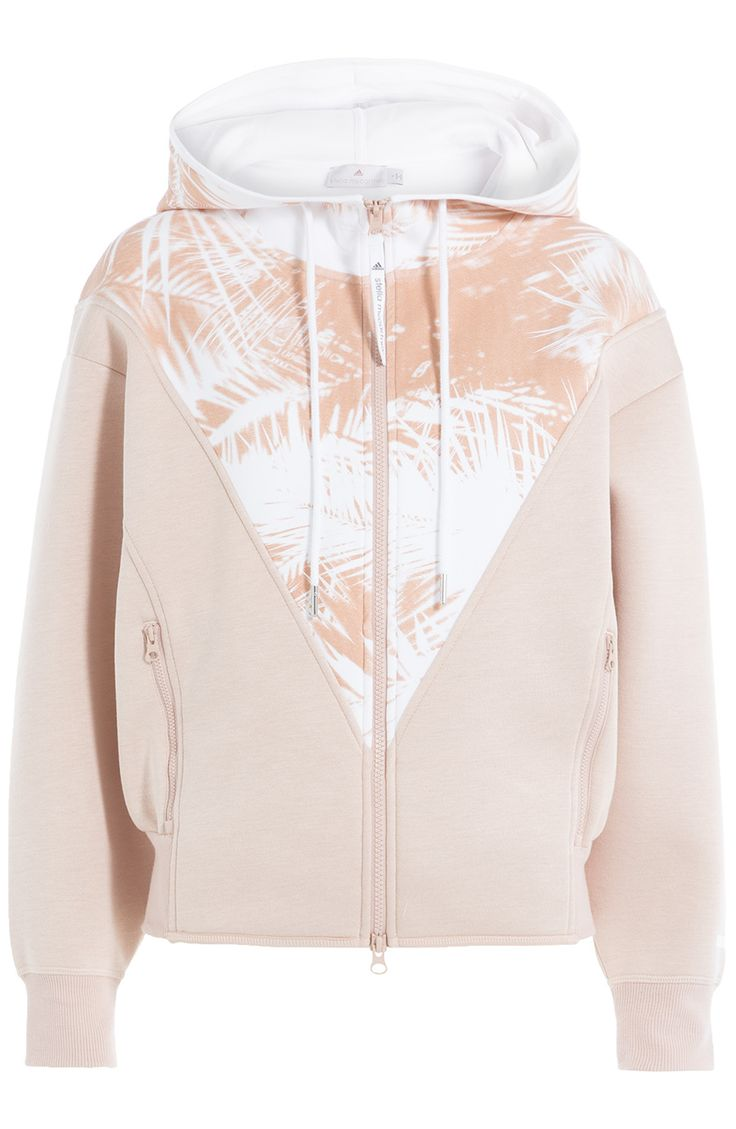 ADIDAS BY STELLA MCCARTNEY Hoodie Mit Print. #adidasbystellamccartney #cloth #hoodies