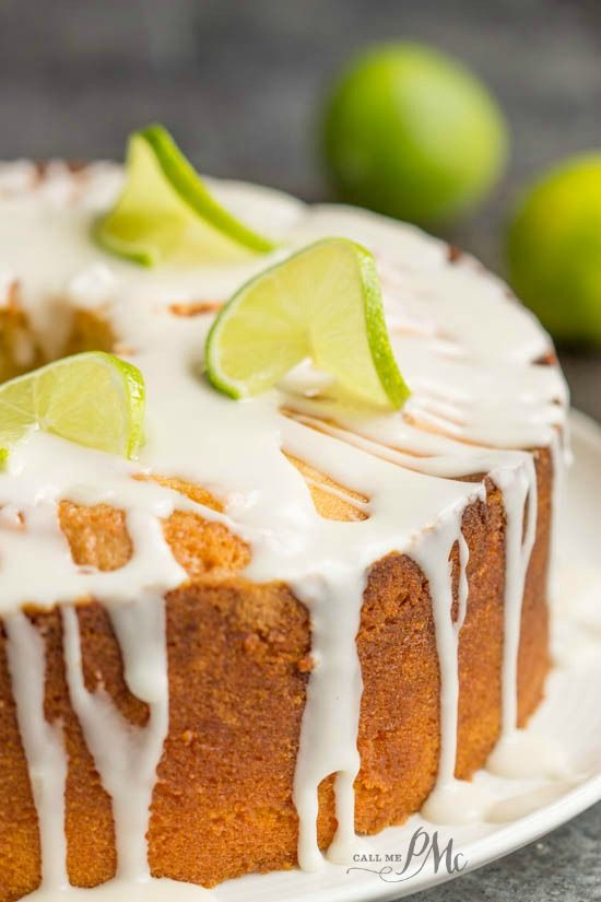 A delicious twist to a traditional Southern pound cake, you'll love this Scratch made Key Lime Pound Cake Recipe with Key Lime Glaze