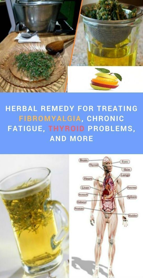 Herbal Remedy for Treating Fibromyalgia, Chronic Fatigue, Thyroid Problems, and More #Exerciseforthyroidproblems #chronicfatiguefibromyalgia