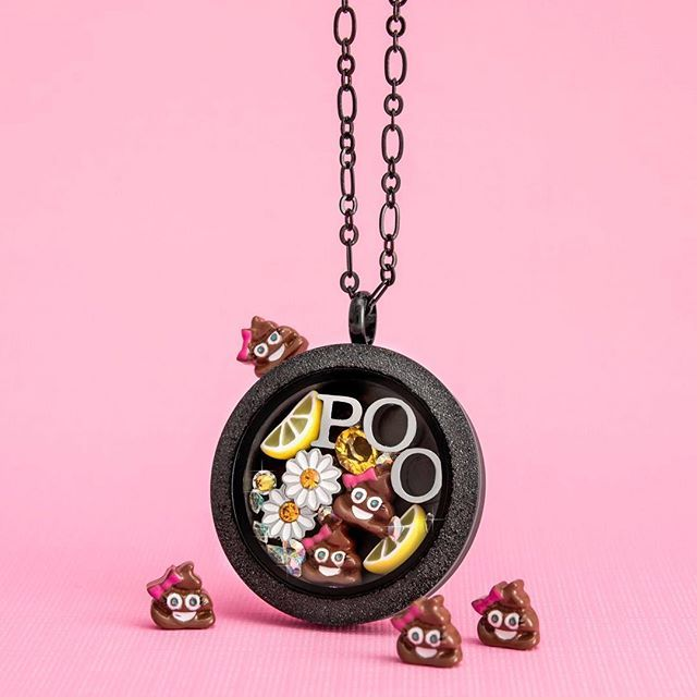 I love the poo out of emojis!  New charm for Origami Owl's Fall collection. View this and the rest of the collection at http://rosag.origamiowl.com.  Follow me on Facebook for more locket ideas and inspiration:  http://facebook.com/rosago2
